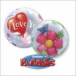 BUBBLE фольгированные шары