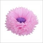 Бумажные цветы 40 / 15 см