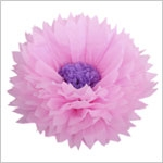 Бумажные цветы 50 / 23 см