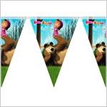 Гирлянды Растяжки Плакаты Маша и Медведи