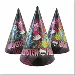 Колпаки карнавальные Monster High