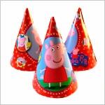 Колпаки карнавальные Peppa Pig
