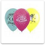 Латексные шары с рисунком