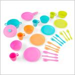 Пластиковая посуда Делюкс