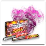 Пневмохлопушки, цветной дым