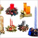 Свечи декоративные ко дню рождения