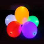 Светящиеся шары к 9 мая