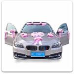 Украшения для машин на свадьбу