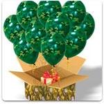 Воздушные шары к 23 февраля
