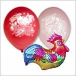 Воздушные шары на Новый год 2017