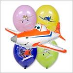 Воздушные шары Самолеты