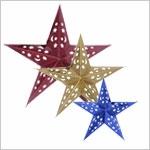 Звезды бумажные