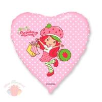 Девочка-клубничка с покупками Strawberry 18/48 см