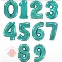 Фольгированные шары Г ЦИФРЫ 40