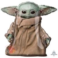 Ходячий шар Звёздные Войны Малыш Йода с гелием