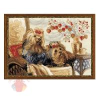 Набор для вышивания крестом Домашние любимцы 40*30 см