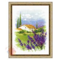 Набор для вышивания крестом Ферма в Провансе 18*24 см