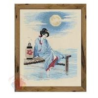 Набор для вышивания крестом Светлая луна 24*30 см