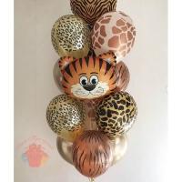 Набор шаров «Тигра поздравляет»