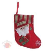 Носок для подарка Дед Мороз с гостинцем