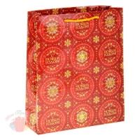 Пакет ламинат С Новым годом 11 х14 см