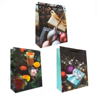 Подарочный пакет, ассорти, 26*32*10см (Подарки)
