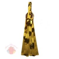 Помпон Кисточка 35 х 12,5 см 5 листов фольга золото