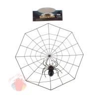 Прикол «Паутина», с пауком