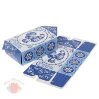 Сборная коробка-конфета С Новым годом 14 см × 0,1 см × 28,5 см