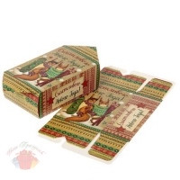 Сборная коробка-конфета Счастливого Нового года 14,5 см × 0,1 см × 28,5 см