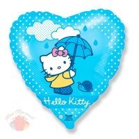Сердце Хелло Китти с зонтиком Hello Kitty 18/48 см