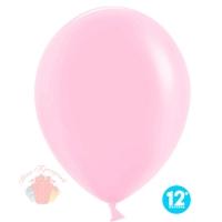 Шар (12''/30 см) Макарунс, Розовый коралл, пастель, 100 шт.