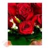 Пакет КАРТОН-БОЛЬШОЙ Бархатные розы, 32*40 см