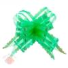 Бант-бабочка №5 органза резной зеленый (в упаковке 10 шт одного цвета)