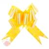 Бант-бабочка №5 перламутр желтый (в упаковке 10шт одного цвета)