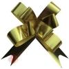 Бант-бабочка Метал Ромб Золото комплект 10 шт.