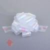 Бант-шар №5 перламутровый, цвет белый