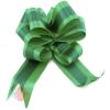 Бант-шар с полосой Комбо 50 мм  Зеленый (10 шт.)