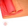 Бумага Эколюкс двухцветная красный/персиковый  (0,7*5 м)