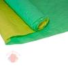 Бумага Эколюкс двухцветная салатовый пастель/желтый пастель (0,7*5 м)