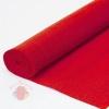 Бумага гофрированная простая, 180 гр 17А/6 красный