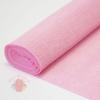 Бумага гофрированная простая, 180 гр 549 светло-розовая