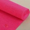 Бумага гофрированная простая, 180 гр 551 ярко-розовая