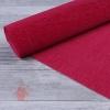 Бумага гофрированная простая, 180 гр 582 светло-вишневая