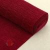 Бумага гофрированная простая, 180 гр 588 бордовая