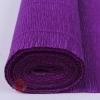 Бумага гофрированная простая, 180 гр 593 фиолетовая
