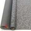 Бумага Пергамент - калька с рис. Феникс серебряный на графитовом 50 см * 10 м