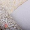 Бумага Пергамент - калька с рис. Огурцы золотой на графитовом 50 см * 10 м