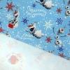 Бумага упаковочная глянцевая Отличного дня рождения Холодное сердце 70 см × 100 см