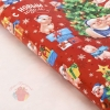 Бумага упаковочная глянцевая Семейный Новый год, 70 х 100 см